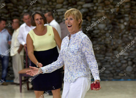 Diana Nyad U.S. endurance swimmer Diana Nyad arrives for a ceremony where she will receive Cuba's The Order of Sporting Merit medal in Havana, Cuba, . Nyad is the first swimmer to swim the crossing between Cuba and Florida without flippers or a shark cage for protection. Nyad made four previous attempts; first in 1978, and three times in 2011 and 2012