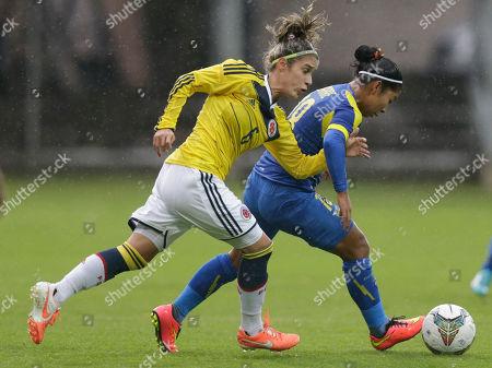 Editorial photo of Ecuador Soccer Women Copa America, Quito, Ecuador