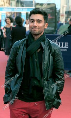 U.S film actor Arash Marandi arrives at the 40th American Film, in Deauville, Normandy, western France