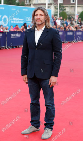 U.S director Saar Klein arrives at the 40th American Film, in Deauville, Normandy, western France