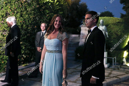 Princess Theodora, Prince Philippos Princess Theodora of Greece and Denmark and Prince Philippos of Greece, right, arrive at the Yacht Club of Greece in Piraeus, near Athens, on . Former King Constantine II of Greece and former Queen Anne-Marie of Greece celebrate Thursday their Golden wedding anniversary with royals from all over Europe