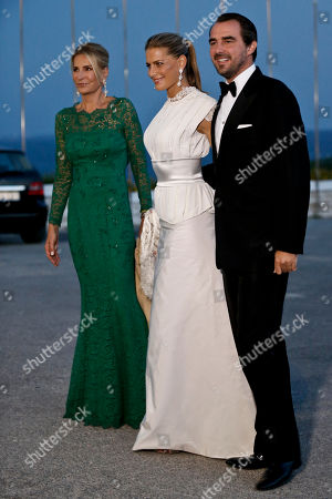 Prince Nikolaos, Princess Tatiana, Marie Blanche Bierlein Prince Nikolaos of Greece and Denmark right, his wife Princess Tatiana of Greece, center and her mother Marie Blanche Bierlein arrive at the Yacht Club of Greece in Piraeus, near Athens, on . Former King Constantine II of Greece and former Queen Anne-Marie of Greece celebrate Thursday their Golden wedding anniversary with royals from all over Europe
