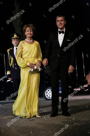 Princess Margarita, Prince Radu Crown Princess Margarita and Prince Radu of Romania arrive at the Yacht Club of Greece in Piraeus, near Athens, on . Former King Constantine II of Greece and former Queen Anne-Marie of Greece celebrate Thursday their Golden wedding anniversary with royals from all over Europe