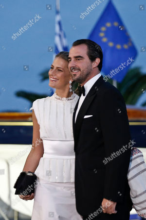 Prince Nikolaos, Princess Tatiana Prince Nikolaos of Greece and Denmark right, his wife Princess Tatiana of Greece arrive at the Yacht Club of Greece in Piraeus, near Athens, on . Former King Constantine II of Greece and former Queen Anne-Marie of Greece celebrate Thursday their Golden wedding anniversary with royals from all over Europe