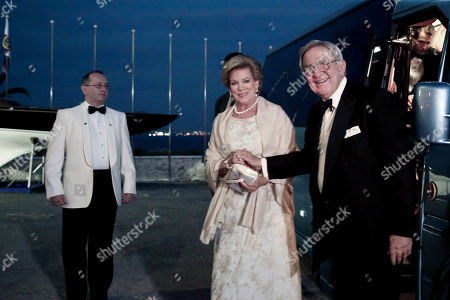 King Constantine, Queen Anne-Marie Former King Constantine II of Greece, right, and his wife Queen Anne-Marie, arrive at the Yacht Club of Greece in Piraeus, near Athens, on . Former King Constantine II of Greece and former Queen Anne-Marie celebrate Thursday their Golden wedding anniversary with royals from all over Europe