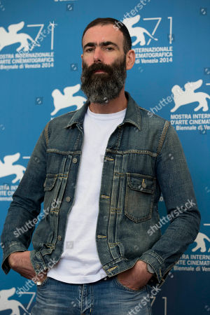 Duane Hopkins Director Duane Hopkins poses during a photo call for the 'Bypass' movie at the 71st edition of the Venice Film Festival in Venice, Italy