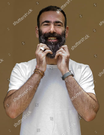 Stock Image of Duane Hopkins Director Duane Hopkins poses for portraits during the 71st edition of the Venice Film Festival in Venice, Italy