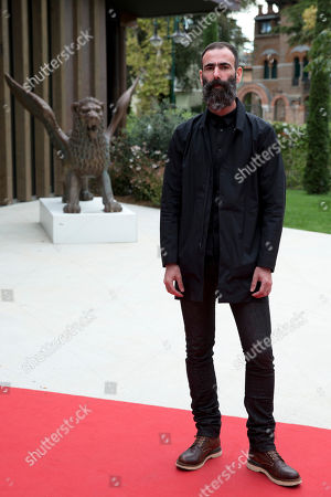 Duane Hopkins Director Duane Hopkins poses for photographers as he arrives for the screening of Bypass at the 71st edition of the Venice Film Festival in Venice, Italy