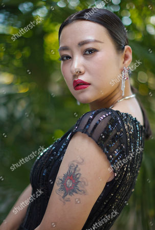 Hao Lei Actress Hao Lei poses for portraits during the 71st edition of the Venice Film Festival in Venice, Italy