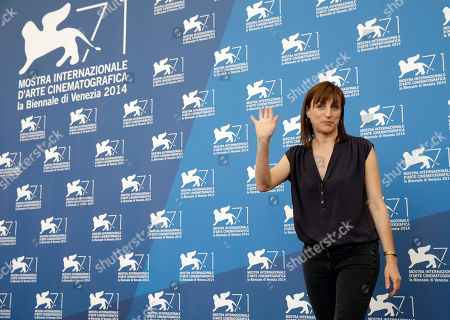 Director Ami Canaan Mann poses for photographers during the photo call for the movie Jackie and Ryan at the 71st edition of the Venice Film Festival in Venice, Italy