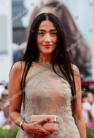 Hindi Zahra Actress Hindi Zahra arrives for the screening of the movie The Cut at the 71st edition of the Venice Film Festival in Venice, Italy