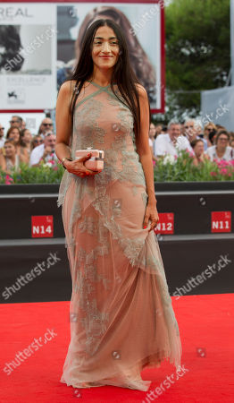 Hindi Zahra Actress Hindi Zahra arrives for the screening of the movie The Cut at 71st edition of the Venice Film Festival in Venice, Italy