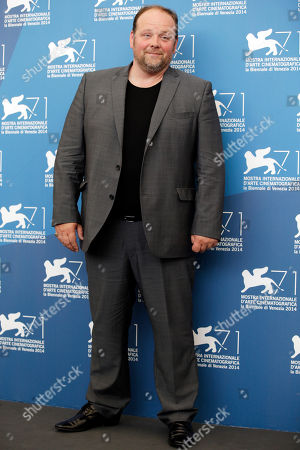 Gregory Gadebois Actor Gregory Gadebois poses during the photo call for the movie The Last Hammer Blow, at the 71st edition of the Venice Film Festival in Venice, Italy