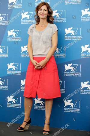 Alix Delaporte Director Alix Delaporte poses during the photo call for the movie The Last Hammer Blow, at the 71st edition of the Venice Film Festival in Venice, Italy