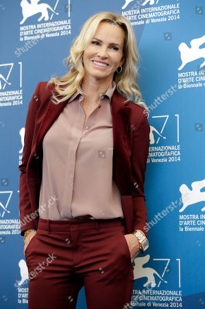 Actress Janet Jones Gretzky poses for photographers during the The Sound And The Fury photo call, the 71st edition of the Venice Film Festival in Venice, Italy
