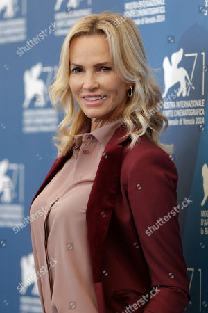 Actress Janet Jones Gretzky poses for photographers during a photo call for The Sound and the Fury at the 71st edition of the Venice Film Festival in Venice, Italy