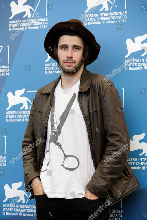 Clement Metayer Actor Clement Metayer poses for photographers at the photo call for the film La Vita Oscena during the 71st edition of the Venice Film Festival in Venice, Italy