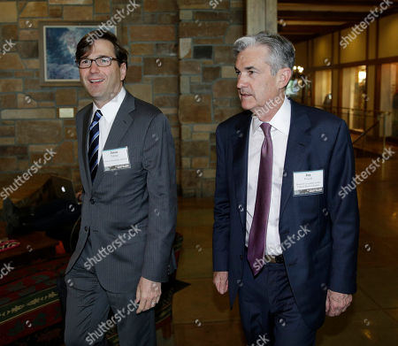 Jason Furman, Jerome Powell Jason Furman, chairman of the Council of Economic Advisors, left, and Jerome Powell, governor of the Board of Governors of the Federal Reserve, arrive for a dinner during the Jackson Hole Economic Policy Symposium at the Jackson Lake Lodge in Grand Teton National Park near Jackson, Wyo