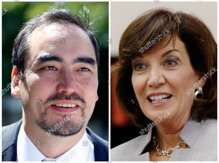 Tim Wu, Kathy Hochul S shows Columbia University professor Tim Wu, left, and former Buffalo, N.Y., congresswoman Kathy Hochul. Hochul and Wu are running against each other for the Democratic nomination to be New York's Lieutenant Governor. They face off in the New York Primary on . Hochul was chosen by incumbent Gov. Andrew Cuomo as his running mate and Wu is the running mate of Cuomo's opponent, Fordham University professor Zephyr Teachout