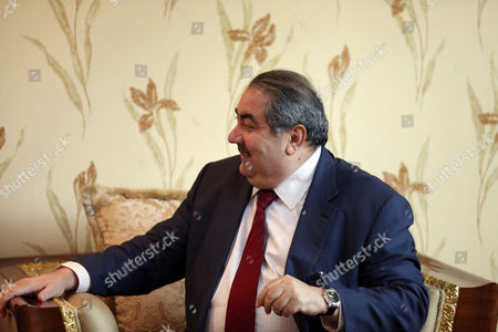 Hoshyar Zebari Iraqi Foreign Minister Hoshyar Zebari meets with United Nations envoy to Iraq Nickolay Mladenov in Baghdad, Iraq