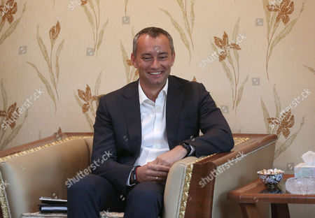 Nickolay Mladenov United Nations envoy to Iraq Nickolay Mladenov meets with Iraqi Foreign Minister Hoshyar Zebari in Baghdad, Iraq