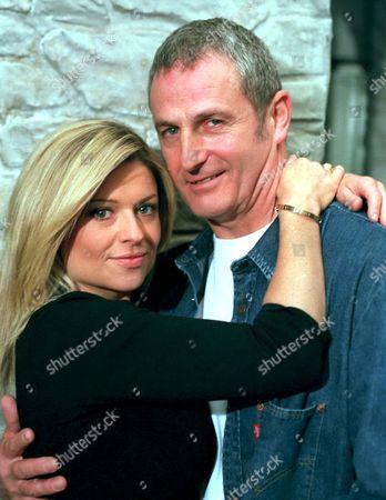 'Emmerdale'  - Louise Appleton [Emily Symons] and Ronnie Marsden (Ray Ashcroft)
