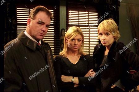 'Emmerdale'  -  Terry Woods (Billy Hartman) Louise Appleton [Emily Symons]Charity Dingle [Emma Atkins]