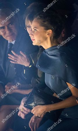 Stock Photo of Emma Ferrer Emma Ferrer granddaughter of Audrey Hepburn arrives at the presentation of Lanvin Spring/Summer 2015 ready-to-wear fashion collection, presented in Paris, France
