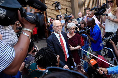 Arnold Pistorius Oscar Pistorius' uncle Arnold Pistorius leaves the court in Pretoria, South Africa, . In passing judgement judge Thokozile Masipa ruled out a murder conviction for the double-amputee Olympian in the shooting death of his girlfriend, Reeva Steenkamp, but said he was negligent and convicted him of culpable homicide. Sentencing is scheduled for Oct. 13, 2014