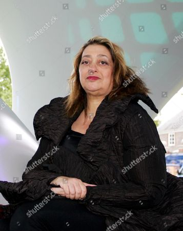 Lilas, an installation by Zaha Hadid Architects, Zaha Hadid and Patrik Schumacher for The Summer Party at the Serpentine Gallery, Kensington Gardens, London, U.K., Wedesday, July 11, 2007.