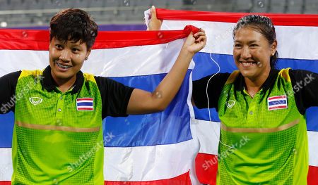 Luksika Kumkhum, Tamarine Tanasugarn Thailand's Luksika Kumkhum, left, and Tamarine Tanasugarn celebrate after winning the women's doubles gold medal tennis match at the 17th Asian Games in Incheon, South Korea