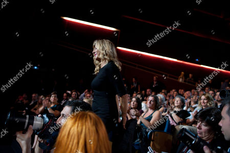 Paprika Steen Danish actress Paprika Steen, goes to the stage to receives the Silver Shell for the best actress with her film ''Silent Heart'', at the 62nd San Sebastian Film Festival in San Sebastian, northern Spain