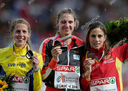 Editorial picture of Switzerland Athletics Europeans, Zurich, Switzerland