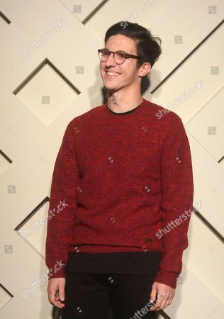 "Dan Croll British singer-songwriter Dan Croll poses during a photo call of Burberry ""Art of The Trench"" in Taipei, Taiwan"