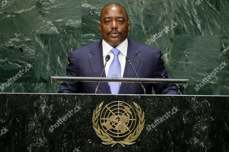 Joseph Kabila Kabange Joseph Kabila Kabange, President of the Democratic Republic of the Congo, addresses the 69th session of the United Nations General Assembly, at at U.N. headquarters