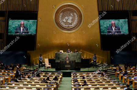 Editorial photo of UN General Assembly Namibia
