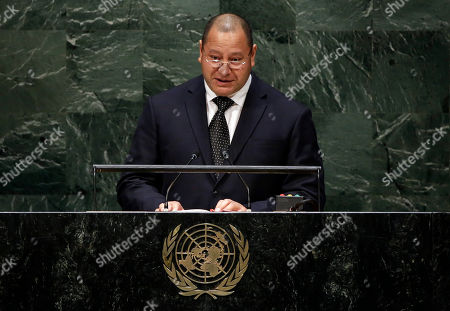 King Tupou VI King Tupou VI, of Tonga, addresses the 69th session of the United Nations General Assembly, at U.N. headquarters