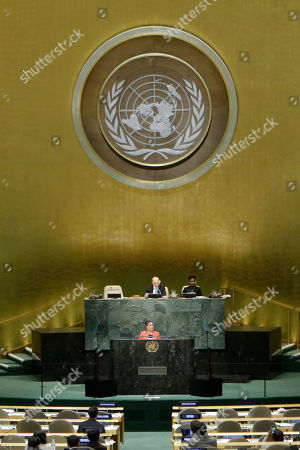Kamla Persad-Bissessar Kamla Persad-Bissessar, prime minister of Trinidad and Tobago, addresses the 69th session of the United Nations General Assembly at U.N. headquarters on