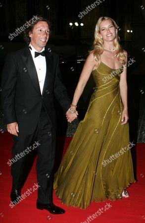 Valeria Mazza and husband