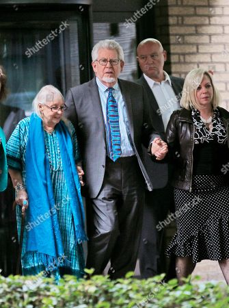 Rolf Harris Veteran entertainer Rolf Harris, centre, accompanied by his daughter Bindi, right, and wife Alwen, as they leave Southwark Crown Court in London, . A jury Monday found Australian-born Harris guilty of 12 counts of indecent assault, convicting the 84-year old of indecent assault on four victims aged 19 or under between 1968 and 1986. Harris denied the charges