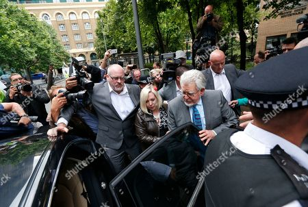 Rolf Harris Veteran entertainer Rolf Harris, centre right, accompanied by daughter Bindi, centre left, and security, and surrounded by members of the media leaves the Southwark Crown Court in London, . A jury Monday found Australian-born Harris guilty of 12 counts of indecent assault.The 84-year-old was convicted of indecent assault on four victims aged 19 or under between 1968 and 1986. Harris was a prominent British broadcaster for decades and once performed with the Beatles. He had denied the charges