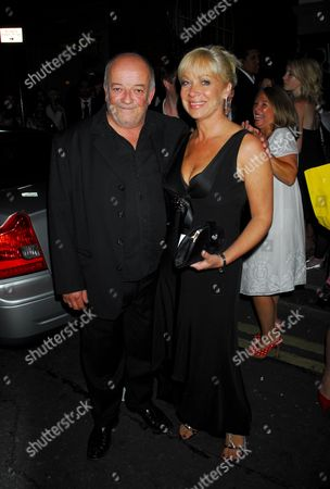Stock Picture of Tim Healey and Denise Welch