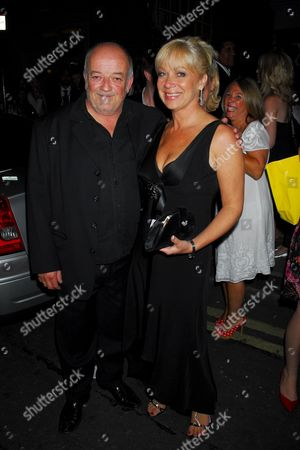 Tim Healey and Denise Welch
