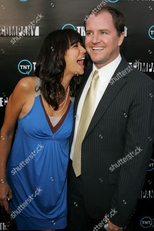 Catherine Bell and husband Adam Beason