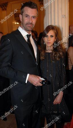 Rupert Everett and Allegra Versace Beck.