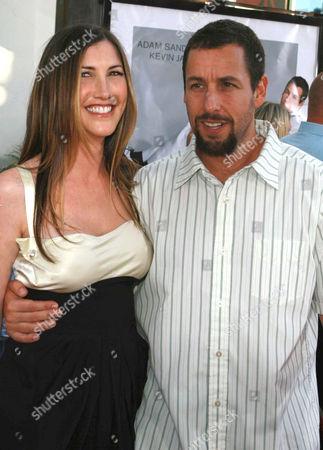 Adam Sandler and wife Jackie Titone