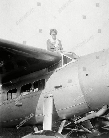 Amelia Earhart Amelia Earhart, the first woman to cross the Atlantic Ocean by plane sits on top of a plane. A Wyoming man who paid $1 million to sponsor a search for Amelia Earhart's missing airplane is asking a federal judge not to dismiss his fraud lawsuit against expedition organizers. Tim Mellon says the Pennsylvania-based International Group for Historic Aircraft Recovery and its executive director actually found Earhart's plane in 2010. Mellon, son of the late philanthropist Paul Mellon, claims the group kept the discovery secret it could keep seeking funds
