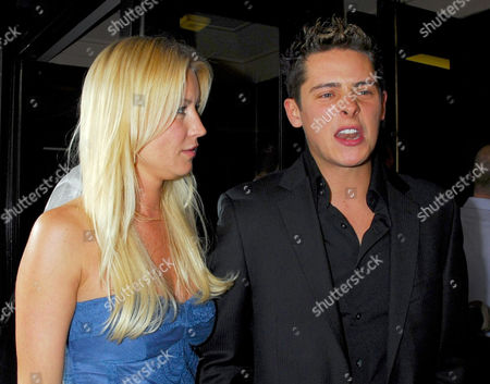 Denise Van Outen with Christopher Parker