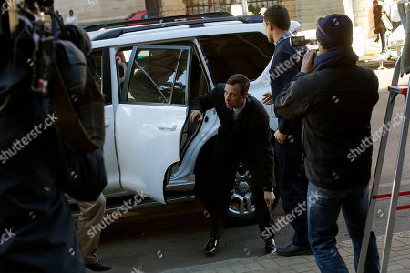Oscar Pistorius arrives at court in Pretoria, . Chief prosecutor Gerrie Nel has challenged the credibility of a physician, Wayne Derman, who testified that the athlete has an anxious nature linked to his disability and could not be objective about the double-amputee runner because he had treated Pistorius over many years and traveled with him extensively