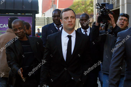 Oscar Pistorius Oscar Pistorius leaves court in Pretoria, . The chief prosecutor, Gerrie Nel has challenged the credibility of a physician, Wayne Derman, who testified that the athlete has an anxious nature linked to his disability and could not be objective about the double-amputee runner because he had treated Pistorius over many years and traveled with him extensively